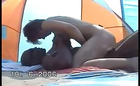 Slutty wife riding a black man