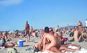 Beach fuck fest and swingers